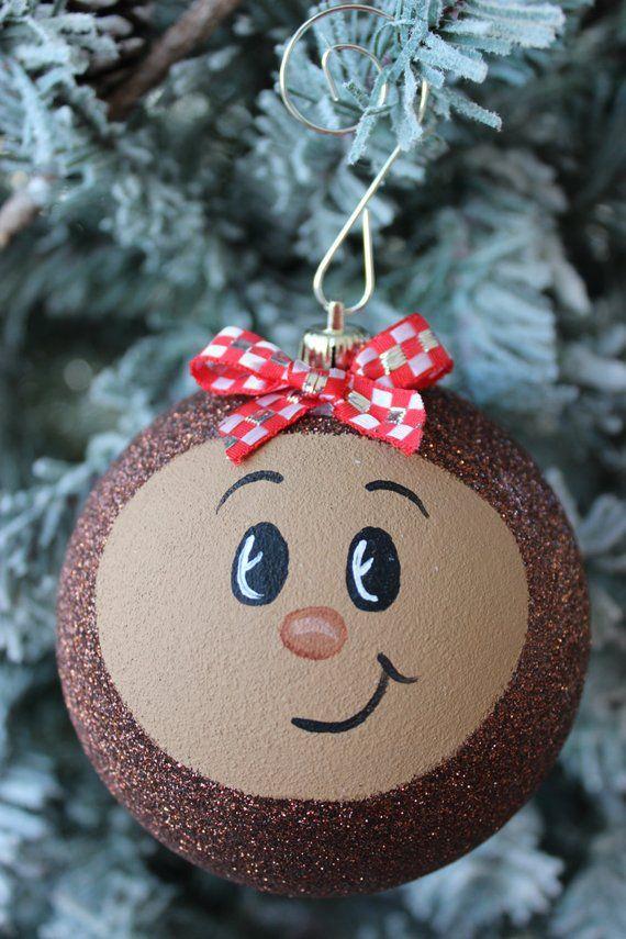 "Large 4"" Ohio State Buckeye Christmas Tree Ornament, OSU ..."