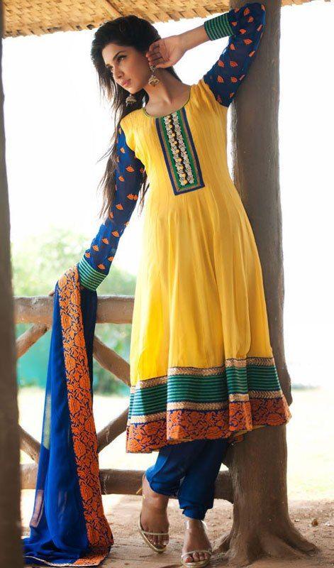 latest churidar salwar kameez designs !!