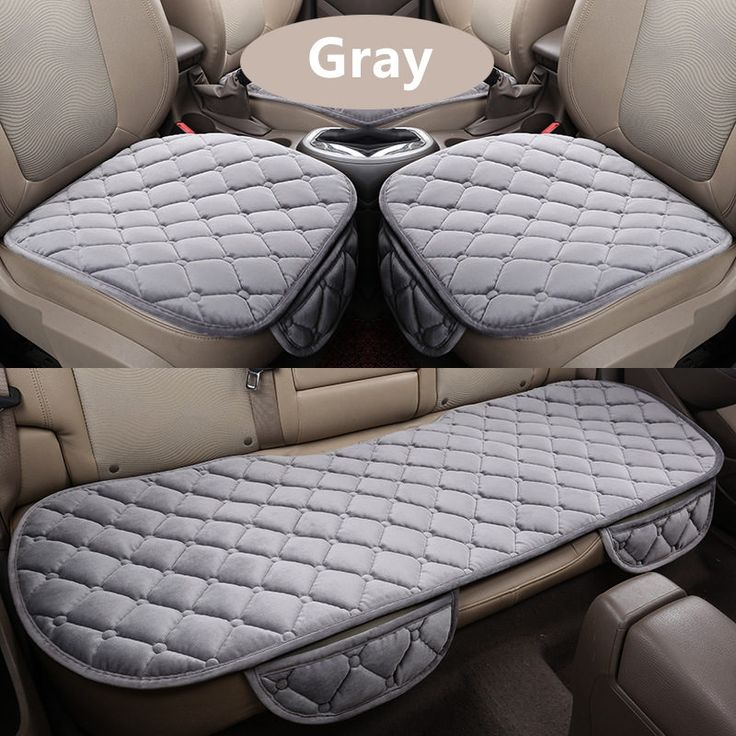 31.85$  Buy here - http://alicep.shopchina.info/go.php?t=32733372626 - 3Pcs/Set Car Supplies Square Style Luxurious Warm Car Seat Cover Cushion Winter Universal Front Back Seat Covers Car Chair Pad 31.85$ #magazineonline