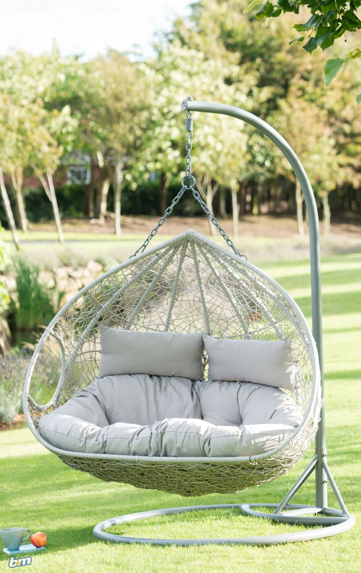 siena hanging snuggle egg chair with images  oversized