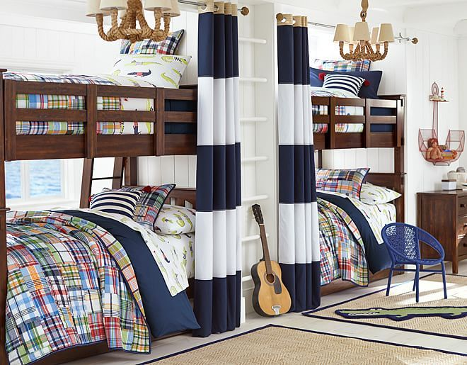 I Love The Pottery Barn Kids Madras Alligator On