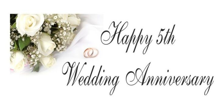 5th Wedding Anniversary Wishes, Quotes and Messages Happy ...