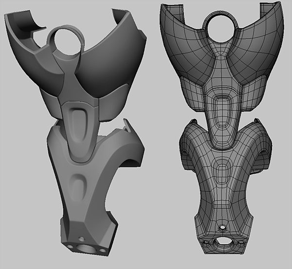 [WIP] ugly battle drone - Page 2 - Polycount Forum