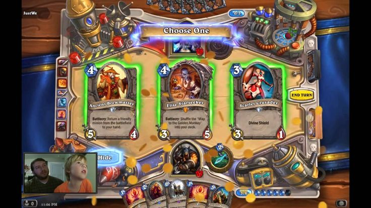 Toy Box Kid and Toy Box Dad play a round of this week's Tavern Brawl in Hearthstone. Was the RNG in our favor? Connect: Twitter - https://twitter.com/ToyBoxK...
