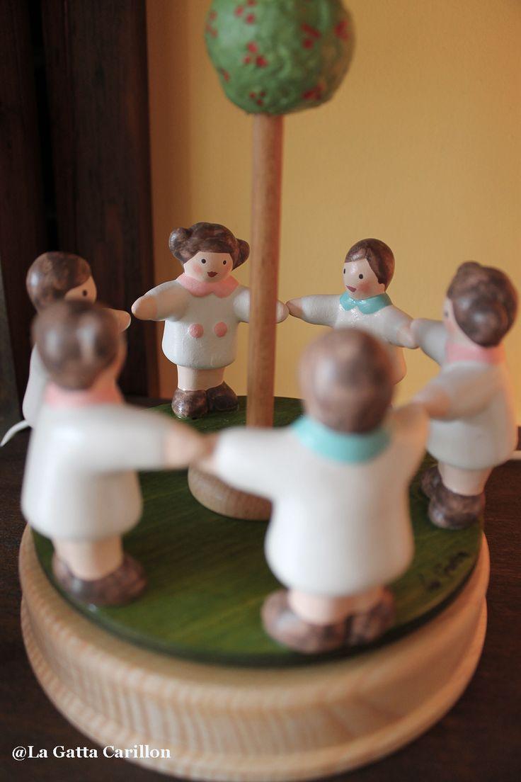 Carillon giostra girotondo bambini - babies carousel music box