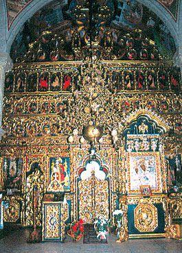 Putna Monastery - Iconostasis
