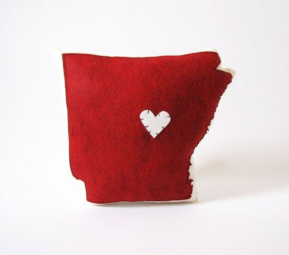 Arkansas pillow