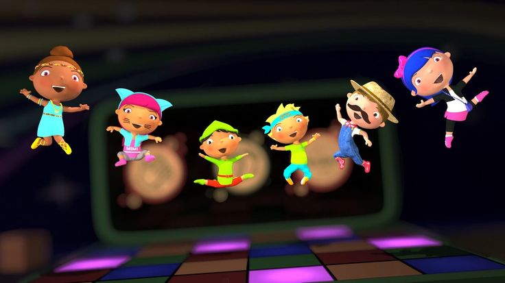 If You're Happy And You Know It . Still from video by #HuggyBoBo - watch on YouTube https://goo.gl/OmcC18