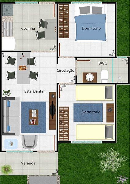 planos de casas modernas y chicas