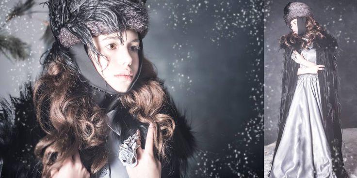 """MILENA""    *Photographer, stylist, decorator: Looiza Potapova    * Fur coat: Braschi   *Dres: Carolina Hererra    * Cap, ring: Looiza Potapova    * Assistant photographer: Alexander Maligin    * LOOIZAPOTAPOVA.COM     * + 7 (926) 842-74-08"