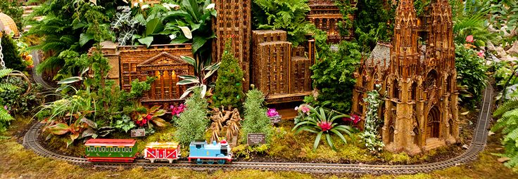 Holiday Train Show | NYBG: This awe-inducing museum (and national historic landmark) also boasts the the annual Holiday Train Show, featuring more model trains than ever before traversing an incredibly detailed New York City scene.