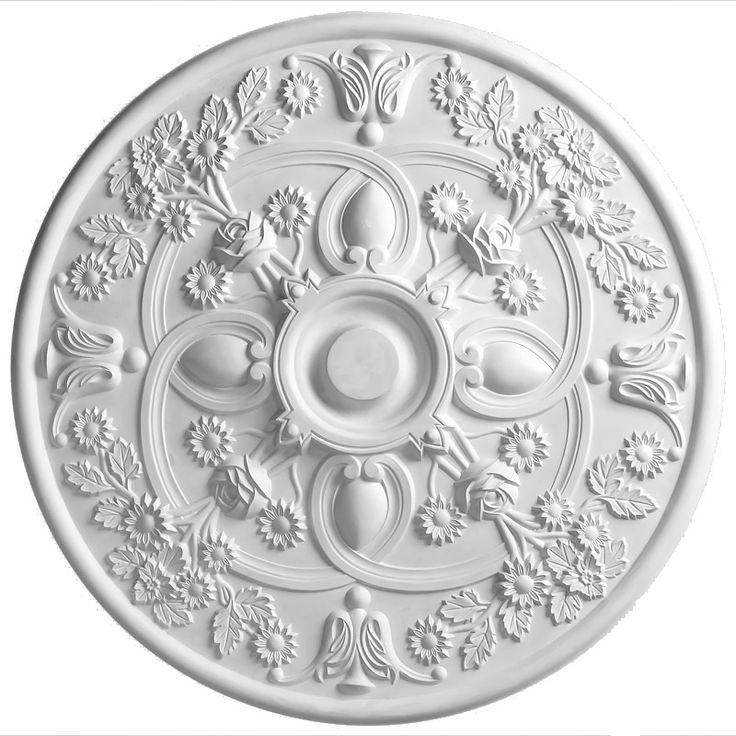 Victorian Gothic Handmade Plaster Ceiling Rose 780mm | Hand Made Plaster Ceiling Rose