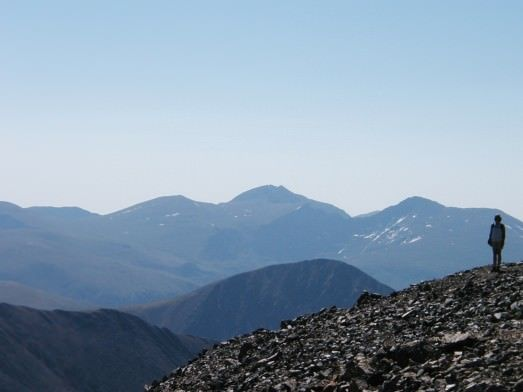 Gray's Peak Trail