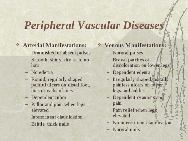 peripheral vascular disease | Skin Diseases , Vascular ; Livedo Reticularis