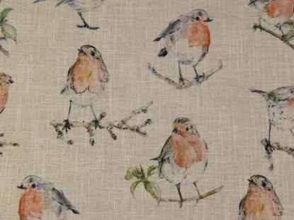 Clarke & Clarke Dawn Chorus F0857/01 linen fabric