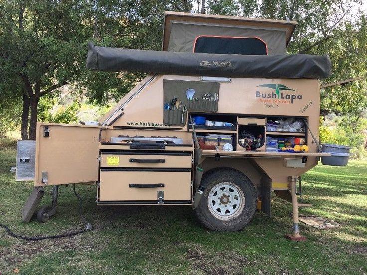 Bush Lapa Off Road 3 Sleeper Trailer Caravan Boskriek