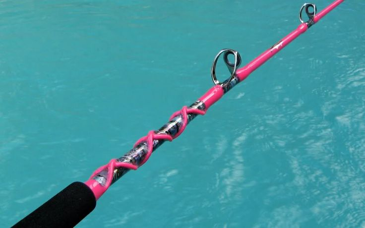 pink fishing pole | Thread: LADIES HOT PINK ABALONE Conventional Fishing Rod