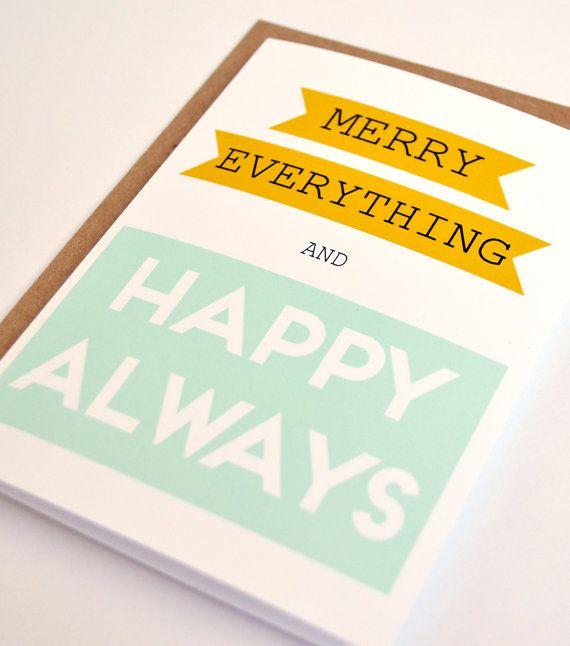 All-purpose season's greetings.
