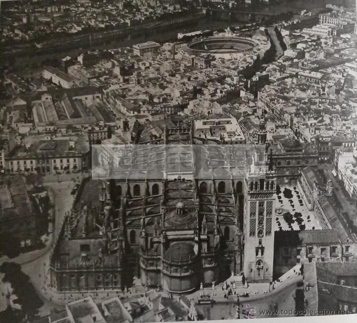 VISTA AEREA DE SEVILLA año 1956 (refAP) Recorte - Foto 1