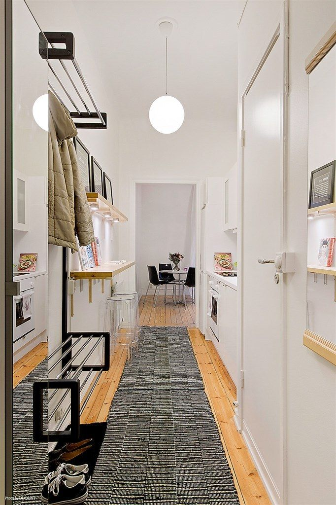 aprovechar el espacio al mximo la cocina en el pasillo decoracin