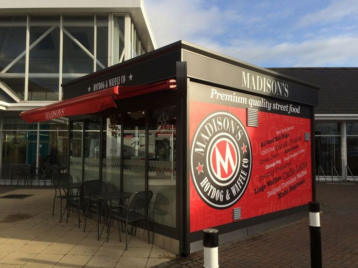 View images of cafe kiosks we have manufactured and supplied to customers throughout the UK. Call 02476 471666 today for more information.