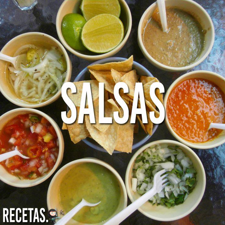 Como hacer salsas para tacos mexicanos - Salsas faciles de hacer ...