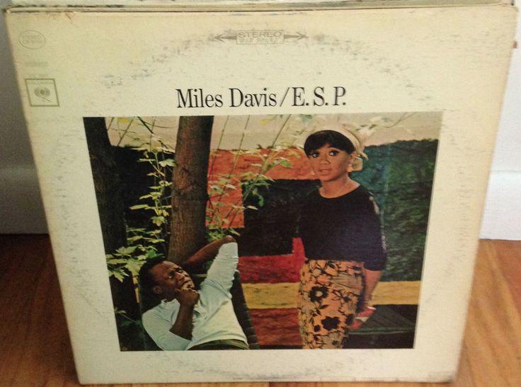 MILES DAVIS ESP LP 1965 Columbia CS 9150 Stereo Two-Eye  #PostBebop