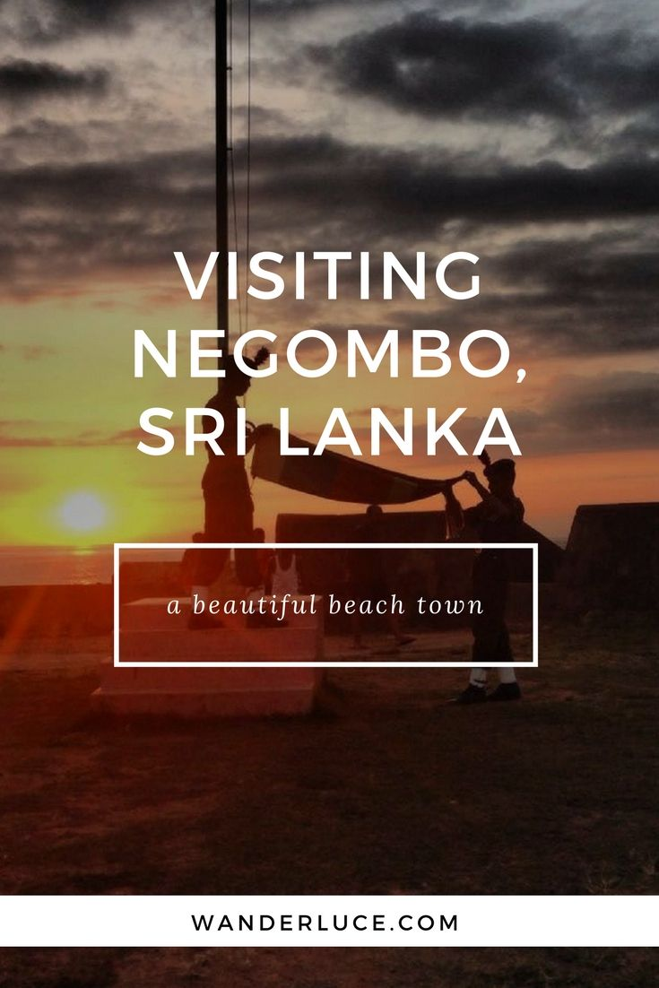 You have to visit the beautiful beach town of Negombo in Sri Lanka.