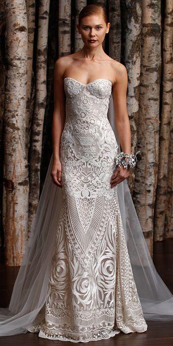 #SGWeddingGuide : Naeem Khan Spring 2015 Bridal Collection