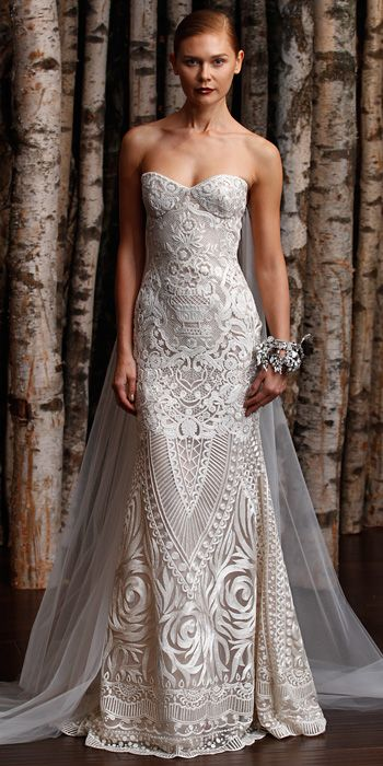 Naeem Khan Spring 2015 Bridal Collection - Naeem Khan from #InStyle