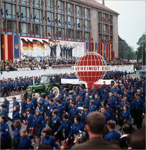 DDR - FDJ-Pfingsttreffen Karl-Marx-Stadt 1967
