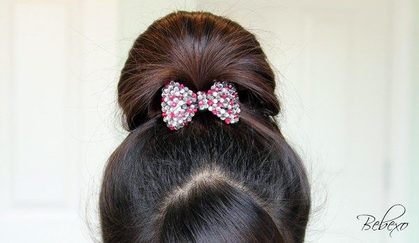 Perfect Fan Bun Updo Bun Hairstyles For Long Hair Fan Bun Bun Updo