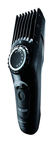 Panasonic Tondeuse à Cheveux: 25 hauteurs de coupe de 1 à 25 mm par pas de 1mm Coupe possible dès 0.5 mm sans sabot Molette de réglage…