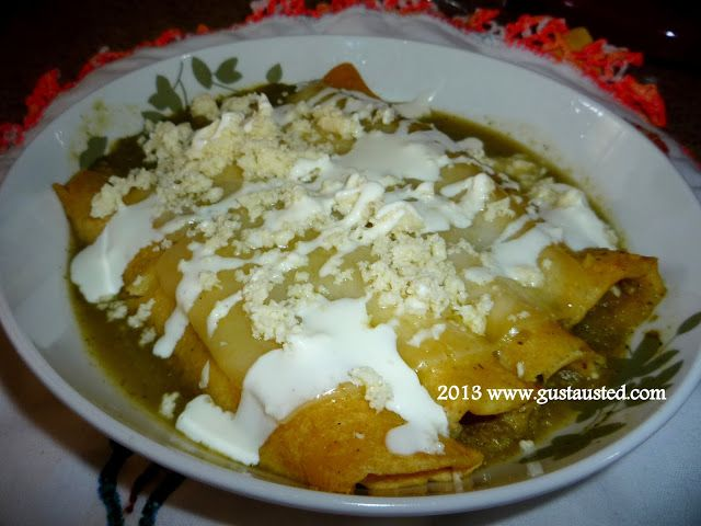 Enchiladas on Pinterest