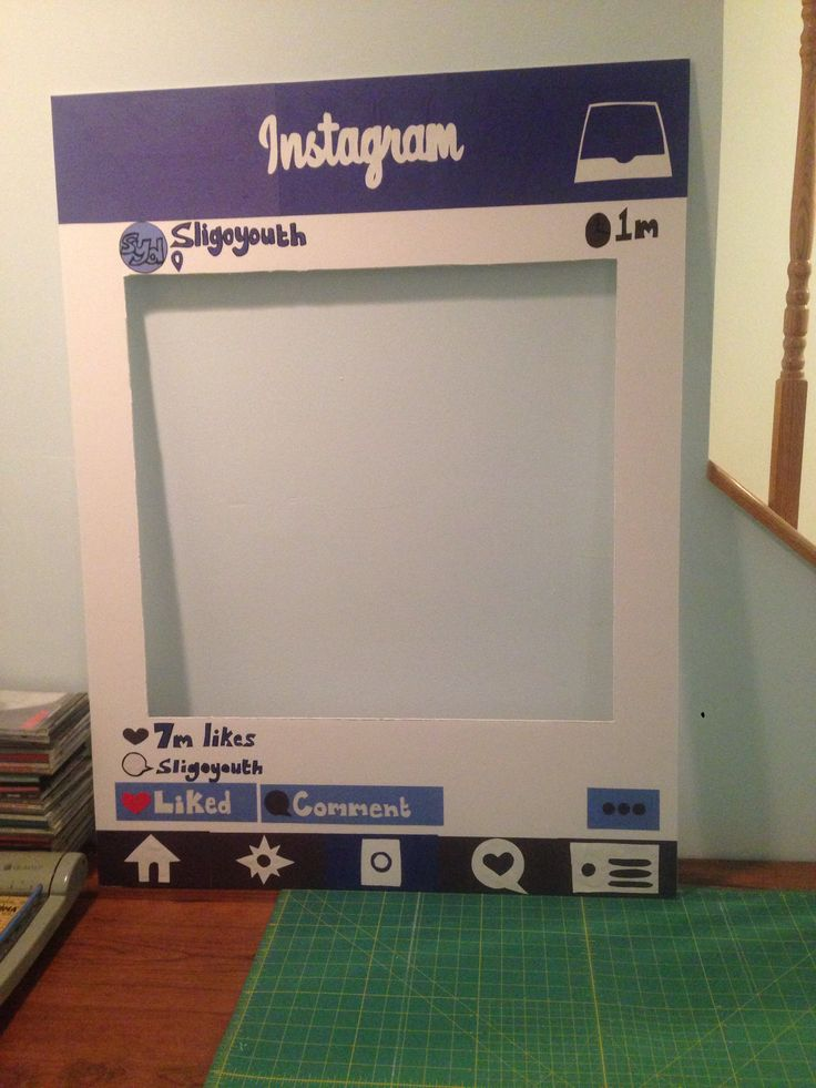 Best 25 instagram photo booth ideas on pinterest instagram homemade instagram photobooth cut out great diy for marketing solutioingenieria Images