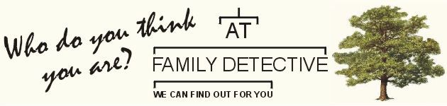 Family history and family tree research, genealogy, ancestry, find my ancestors | familydetective.co.uk