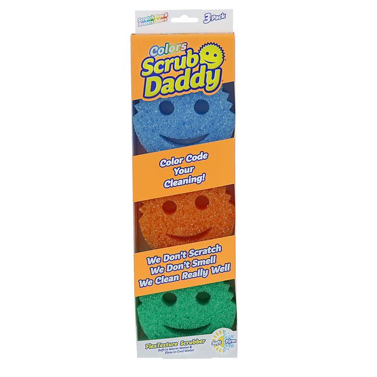 Scrub Daddy Colors Sponge - 3pk,