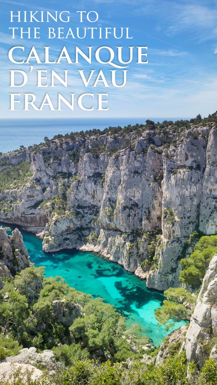 Calanque d'En Vau Hike From Cassis, France