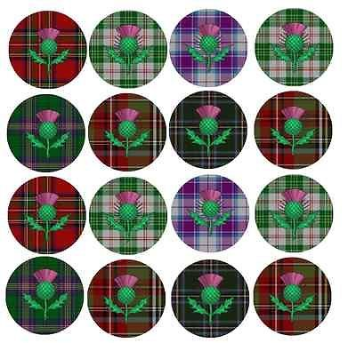 Edible papers for cookies, shortbread, etc.  Also comes in plain tartans or whiskey lablels.