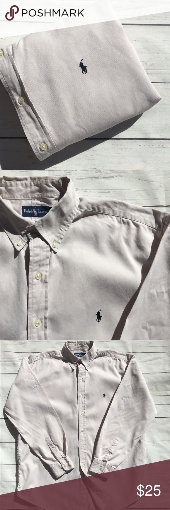 "🐎 🐎SALE🐎1/$25•2/$42•3/$60• Polo Ralph Lauren🇺🇸Military, police & fire men & women receive 15% discount🇺🇸men's  long sleeve 100% cotton oxford shirt•XL BLAKE per tag: see measurements below•Signature pony• EUC• some faint spots near hem• shoulder: 22""• Chest: 27""• Sleeve:35""• Length: 34""• CHECK BACK WEEKLY FOR NEW LISTINGS• Polo by Ralph Lauren Shirts Casual Button Down Shirts"