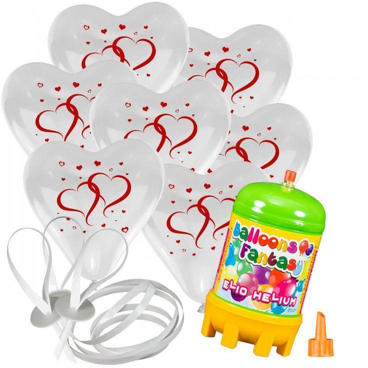 Hochzeit Ballons mit Helium
