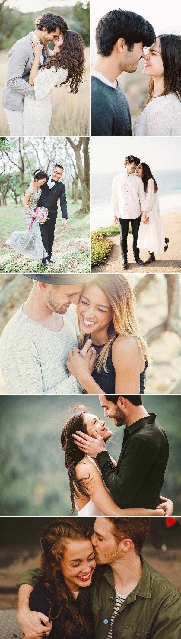 Romantic engagement photograph ideas for your outdoor engagement session