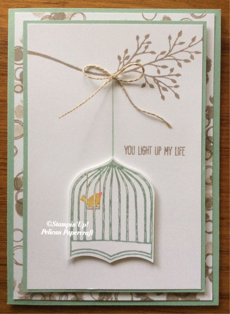 Badges and Banners, Jar of Love, Playful Backgrounds all Stampin' Up!