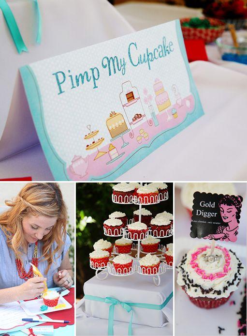 bridal shower ideas - can we do pimp my pie instead??