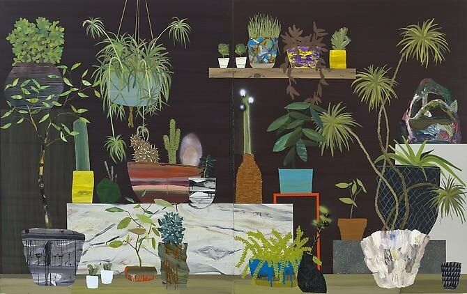 Frequent readers of the site know I love plants and artist Paul Wackers makes just the kind of plant paintings I would love to own. Paul has an MFA from San Francisco Art Institute and BFA from Cor...