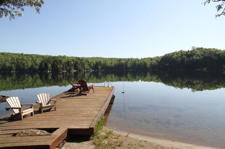 Taresjo Cove on Wenona lake in the Haliburton area.