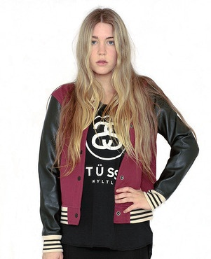 Stussy - Presto Bomber; such a sweet style, loving the oxblood tone too which is trending big time right now