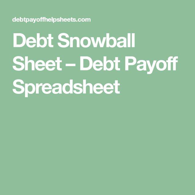 best 25  debt snowball spreadsheet ideas on pinterest