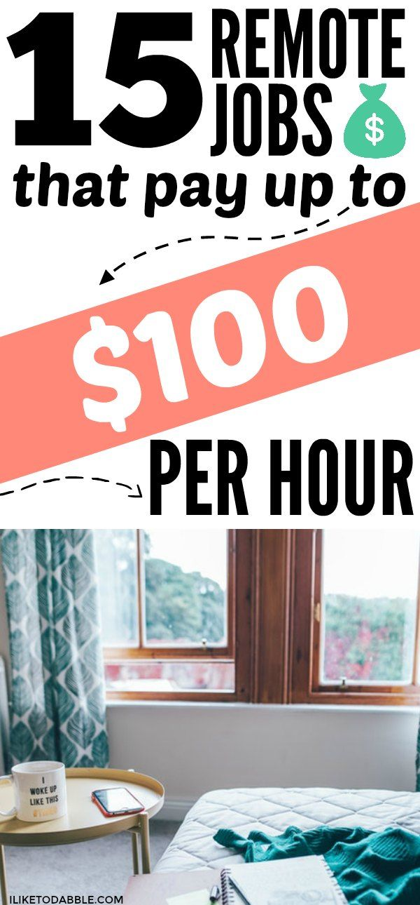 15 Remote Jobs That Pay More Than 15 Hourly With Images