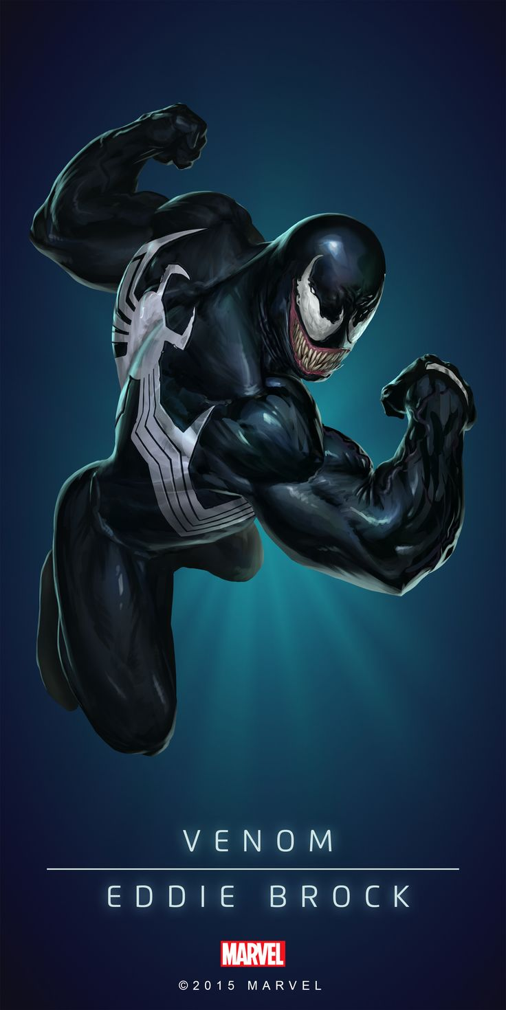 #Venom #Fan #Art. (VENOM - EDDIE BROCK IN: MARVEL'S PUZZLE QUEST!) BY: AMADEUS CHO! (THE * 5 * STÅR * ÅWARD * OF: * AW YEAH, IT'S MAJOR ÅWESOMENESS!!!™)[THANK Ü 4 PINNING<·><]<©>ÅÅÅ+(OB4E)(IT'S THE MOST ADDICTING GAME ON THE PLANET, YOU HAVE BEEN WARNED!!!)